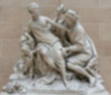 Jean Baptiste Lemoyne, Vertumne et Pomone, Musée du Louvre