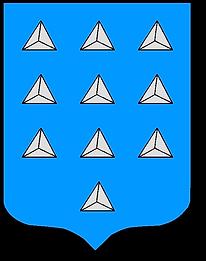 Armoiries de la famille Lachèse (Guyenne), source X Gille