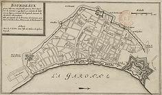Plan de Bordeaux, source internet