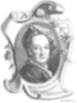 Portrait gravé de Jean Baptiste Blain de Fontenay