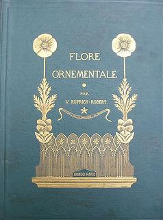 La Flore ornementale, Victor Ruprich-Robert (1874), source X Gille