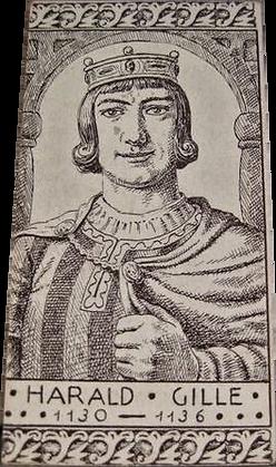 Harald Gille, Roi de Norvège