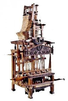 Modèle réduit de métier à tisser les rubans, Musée d'Art et d'Industrie de St-Etienne