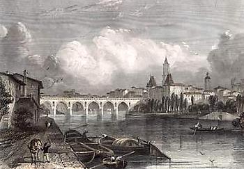 Gravure de Montauban, source internet