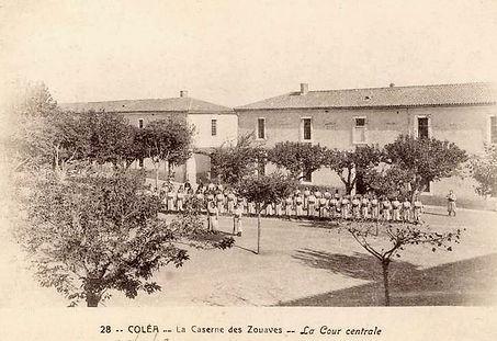 Caserne des Zouaves de Koléa, Algérie