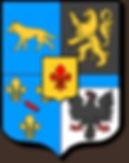 Armoiries de la famille La Baume (Périgord), source X Gille