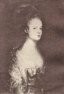 Portrait d'Elisabeth Hadorne par Jean-Baptiste Perronneau, source SGG