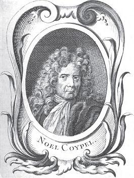 Portrait gravé de Nicolas Coypel