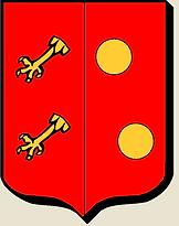 Armes de la famille Bergerac (Périgord), source X Gille