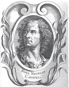 Portrait gravé de Noël Nicolas Coypel