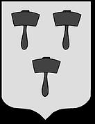 Armoiries de la famille Maillard (Normandie), source : X Gille