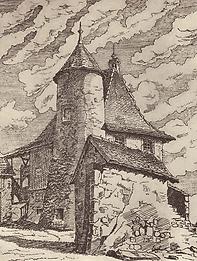 Château de Vésenaz, source internet