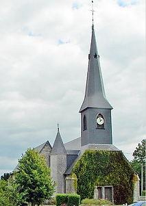 Eglise de St-Aubin-du-Thenney (Eure), source internet