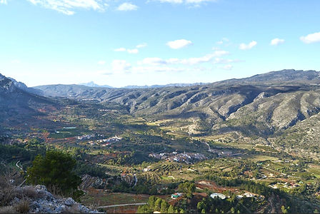 Vall de Gallinera, source Internet
