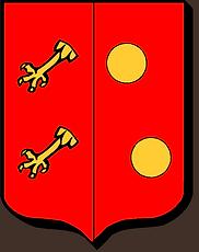 Armoiries de la famille Bergerac (Périgord), source X Gille
