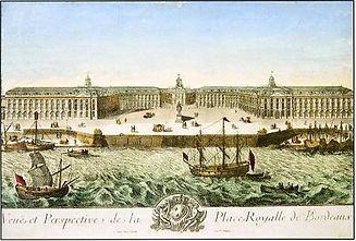 Bourse du Commerce, Place Royale, Bordeaux, source internet