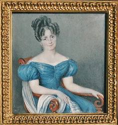 Victoire Perrin vers 1827, source X Gille
