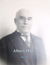 Albert Pinet (1863-1933) par Xavier Gille