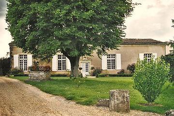 Maison noble de la Chèze à Capian (Gironde), source X Gille