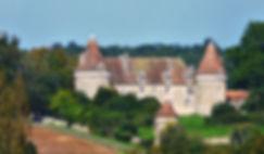 Château de Beauvais à Lussas (Dordogne), source Wikipédia