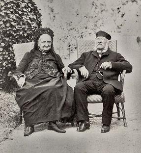 Jean Boueil et Antoinette Bonneau (~1889), source X Gille