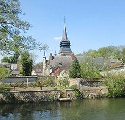 Eglise de Broglie (Eure), source internet
