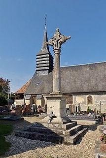 Eglise de St-Pierre-de-Mailloc (Calvados), source internet