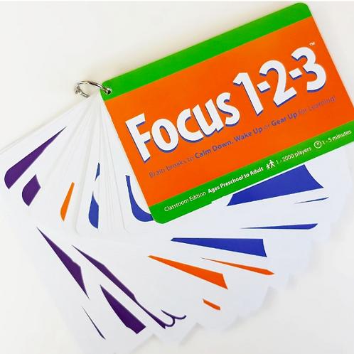 Focus 123: Mini Break Activity Cards
