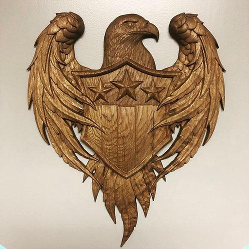 American Eagle W/Shield