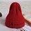 Thumbnail: Baby Cap Embroidered Letters Children's Knit Hat Crochet Baby Beanie
