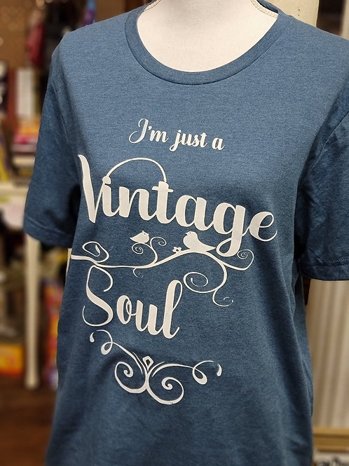 Vintage Soul T-Shirt - Small