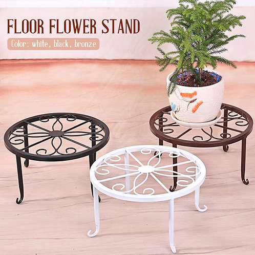 Wrought Iron Potted Stander Flower Pot Rack