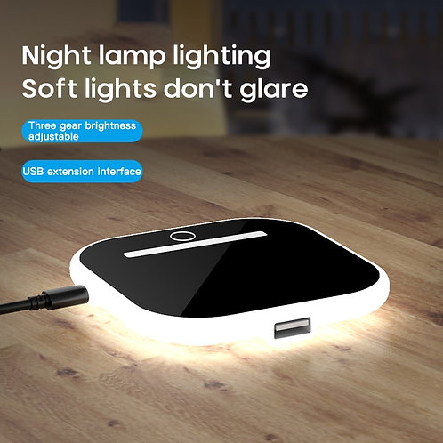 10W Fast Wireless Charger for Samsung, Iphone Chargers With Night Light
