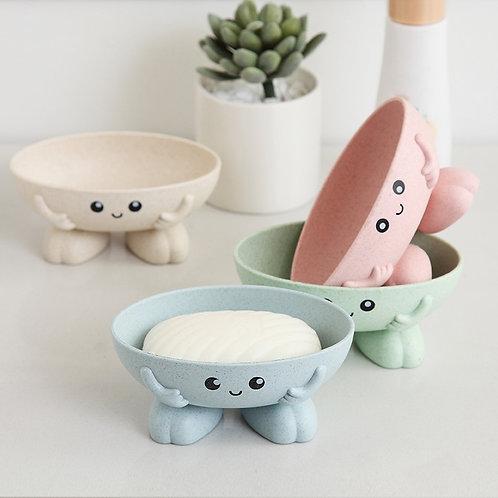 Eco-Friendly 1Pcs Soap Box Non-Slip Soap Dish