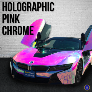 Holographic Pink Chrome