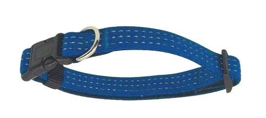 Collier Réfléchissant Bleu Taille