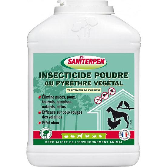 Saniterpen Insecticide Poudre au Pyrèthre Végétal