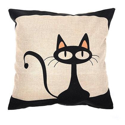 Big Eyed Cat Cushion