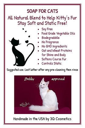 3Q Cosmetics Soap for Cats