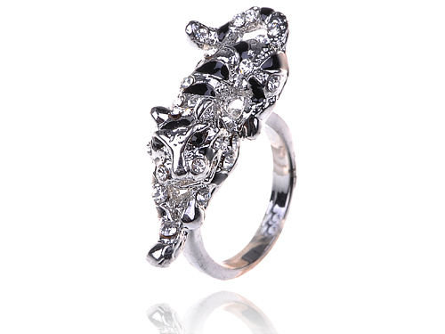 Crouching Jaguar Ring