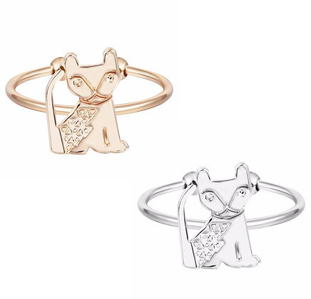 Leopard Panther Baby Lion Egyptian Cat Ring