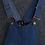 Thumbnail: Cat Face Denim Overalls Dress