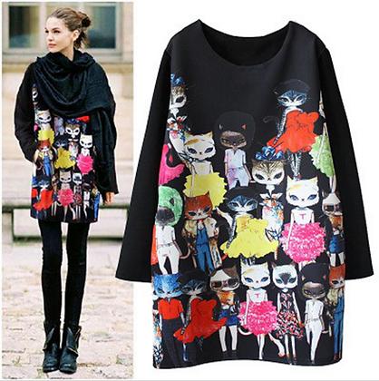 Fashion Cats Tunic/Dress