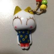 Ceramic Cartoon Cat Necklace