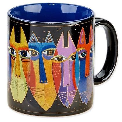 """""""Tribal Cats"""" Mug"""