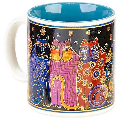 """""""Feline Family Portrait"""" Mug"""