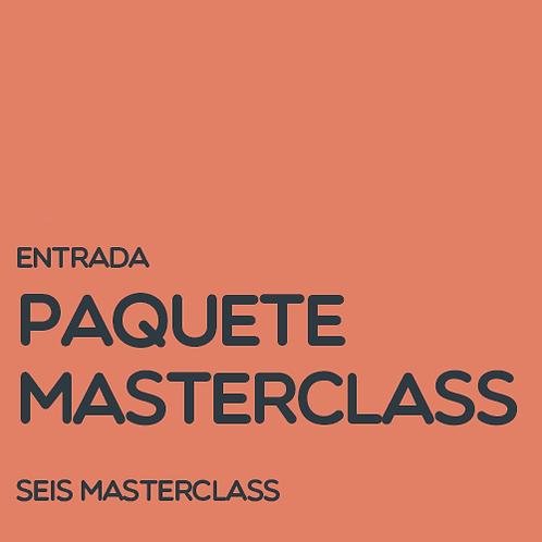 Paquete Masterclass