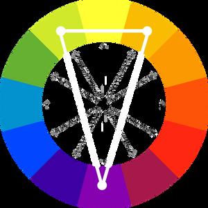 couleurs complémentaires séparées