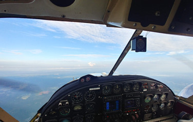 Beech 18 Flight Deck Cockpit