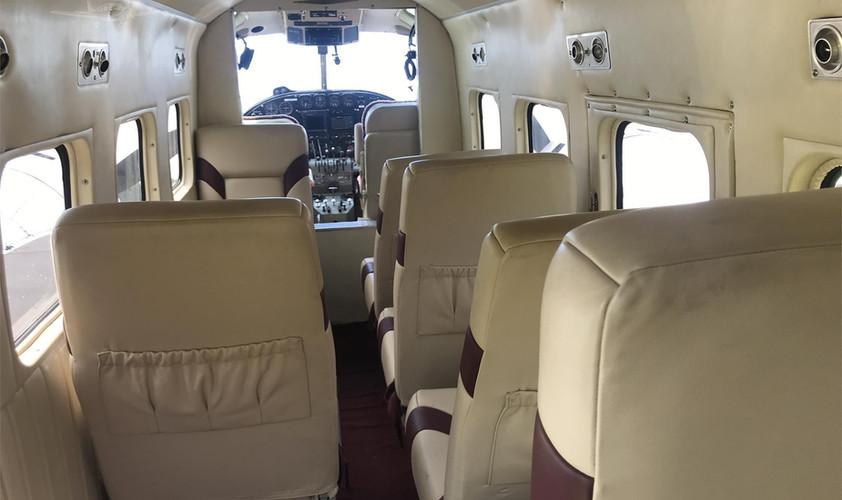 Beech 18 Interior Cabin